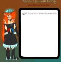 Journal Skin Request for Speednick0 by Your-10-Last-Words