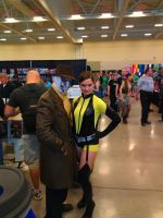 NF Comicon : Rorschach and Silk Spectre by TheWarRises
