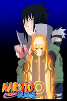 Naruto: Ending 21 -Cascade- (Team 7) (color) by Axcell1ben