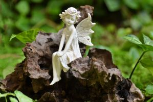 Fairy in the Garden by MayEbony