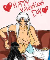 SessKag-Valentines Day by Sasuke323