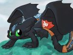 *HTTYD 2-spoiler* The new Alpha by LeniProduction