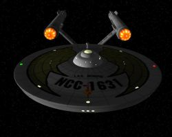 I.S.S. INTREPID  NCC-1631 by archangel72367