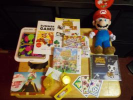 The Nintendo Summer tour swag by dburch01