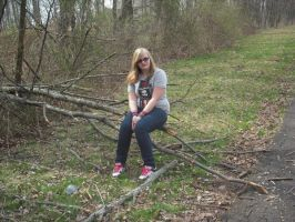 Me on a Branch. by xxzimmer483xx