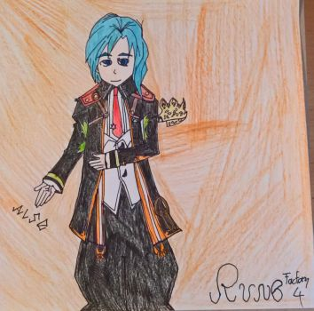 Rune Factory 4 Character Series 05 - Vishnal by happydreamer96