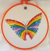 Rainbow Butterfly by Mattsma