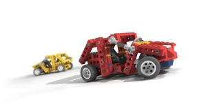 my first lego car by gbrgraphix