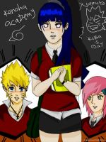Naruhina in KONOHA ACADEMY part 1 by Okky-RightBrain