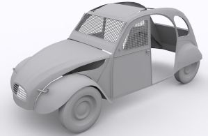 Popcross Citroen 2CV by AlexVentura