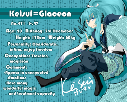 Profile I- Keisui-Glaceon by Inucat