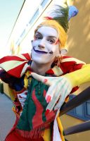 Kefka Cosplay Closeup by Videros