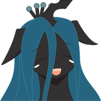Chrysalis' Lovely Face (Color 2) by Moonlight-Pen