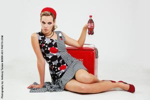 1950s style coca cola ad Model by Photo-Capture