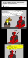 Chainsaw Vigilante and Deadpool comic #7 by arcanineryu
