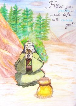 Uncle Iroh by Sherl91