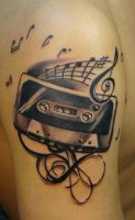tape tattoo by scottytat2