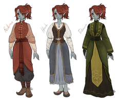 Dunmer dress-up -House-inspired- by AnnMY