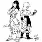 Two Badasses by JustM3M0nt