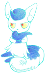 Meowstic (female) meow by ColorMyMemory