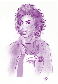 Pearl Mackie as 'Bill' - Doctor Who by Circular-Time