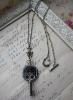 Recycled Watch Necklace by NobleStudiosLtd