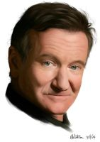 Robin Williams tribute by noodlepredator