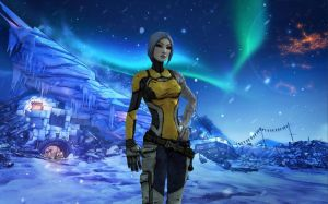 Maya in the icy Borderlands by CoreyJayD