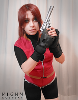 don't mess with a Redfield by Vicky-Redfield
