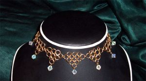 Chainmail Necklace G5 by DesireeMorte