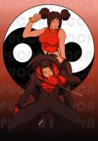 pucca badass by pain16