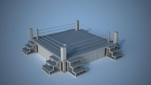Boxing Ring VRay by tom55200