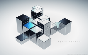 liquidsquares by ryanartistry