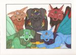 Adoptions Group Picture by KamiraWolfDemon