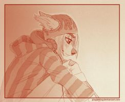 Daily Sketch 8/21/14: Sienna II by Plaguedog