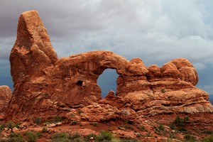 Turret Arch: Gateway to the Storm by OrganBoy