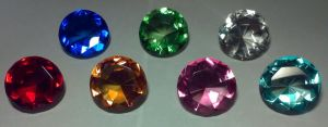 Chaos Emeralds by SonarX