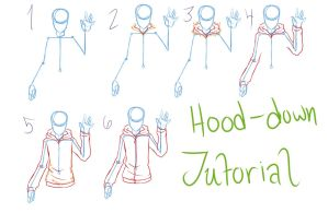 Hood-Down Tutorial by ReiGodric