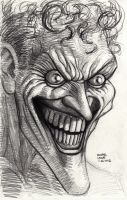 Joker Portrait 11-26-2012 by myconius