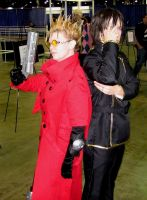 Acen 2010 Vash and Lelouch by PMconfection
