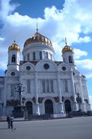 Christ the Savior Cathedral 2 by Panopticon-Stock