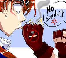 ReTi - NO SMOKING by MakosReTiLove