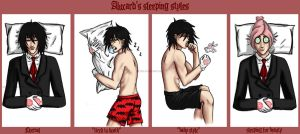 alucard's sleeping styles by Mextra