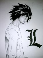L Lawliet by 8thPlanetFromTheSun