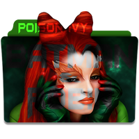 Poison Ivy Folder Icon by mikromike
