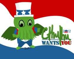 Cthulhu Wants YOU by caitlin-green