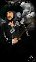Captain Hector Barbossa by AndersonMathias