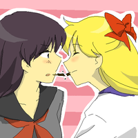 Minako and Rei 6 by Rhodonite
