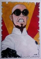 Dr Steel - Aceo by mikegee777