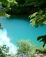 The blue lake... by HellmotherEva